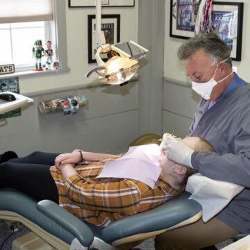 Patient Dental Checkup